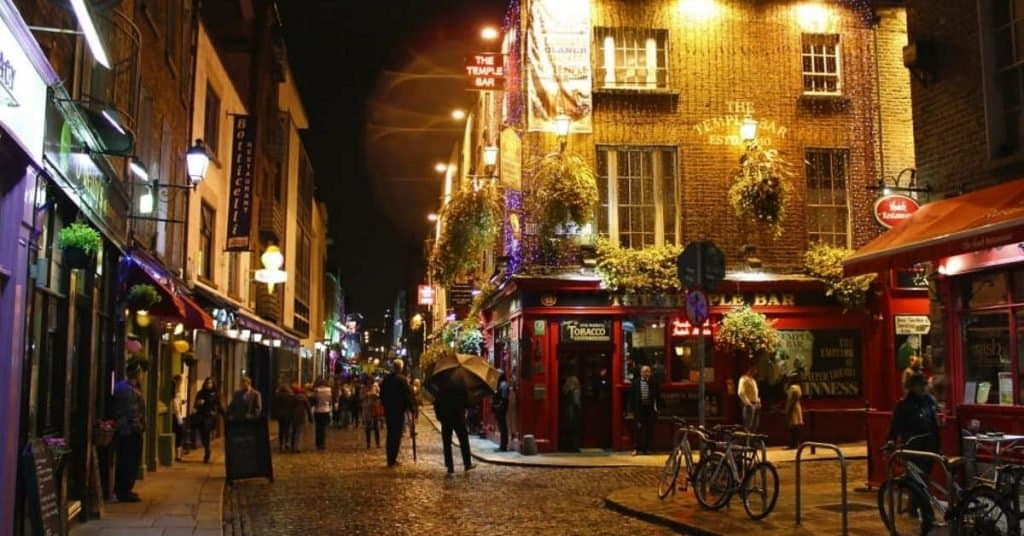 bars in dublin